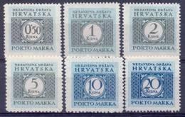 HR 1942-P03 PORTOMARKEN, CROATIA-HRVATSKA, Michel # Mi P 11-6, MNH - Croatie