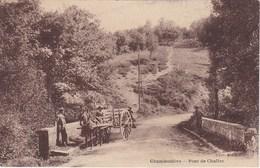 CHAMBOULIVE. Pont De Chaliac. Attelage - Autres Communes