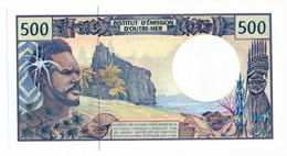 INSTITUT D'EMISSION D'OUTRE MER // Cinq Cent Francs // Signature Différente // UNC - Other - Oceania