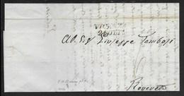 DA VICENZA A ROVERETO - 8.10.1842. - Italy