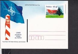 Ganzsache Polen 1999 , Nato - Stamped Stationery