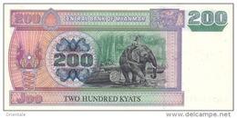 MYANMAR  P. 78 200 K 2004 UNC - Myanmar