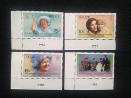 Belize 85th Birthday Of Queen Mother Mint - Belize (1973-...)