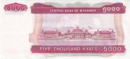 MYANMAR P.  81 5000 K 2009 UNC - Myanmar