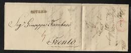DA BOLZANO A TRENTO - 22.7.1836. - Italia