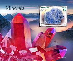 Maldives. 2019  Minerals. (0101b) OFFICIAL ISSUE - Minerals