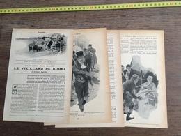 1907 JST LE VIEILLARD DE RODEZ AFFAIRE FUALDES HENRI VARENNES - Alte Papiere