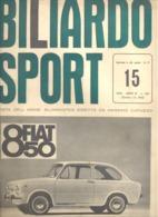 BILLARD - BILIARDO SPORT N° 15 1964.(jm) - Sport