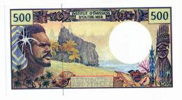 INSTITUT D'EMISSION D'OUTRE MER // Cinq Cent Francs // Signatures à Identifier // SPL / AU - Banknotes