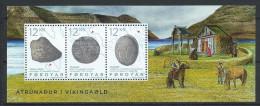 Iles Féroé 2015 Bloc F834 Neuf  La Religion Des Vikings - Faroe Islands