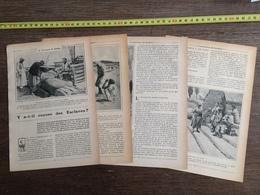 1907 JST Y A T IL ENCORE DES ESCLAVES MARCHE DE MASCATE NEGRES AU CONGO BELGE ESCLAVAGE EN CHINE ET AMERICAINS - Alte Papiere