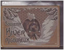 LIVRET 32 PAGES - LA CHAUX DE FONDS, SAINTE CROIX ETC, SUR L'HIVER RIGOUREUX 1907 - BEAUCOUP DE PHOTOS DE TRAINS - - NE Neuchâtel