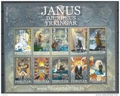 Féroé 2004 N°497/506 Neufs Littérature Janus Djurhuus - Isole Faroer
