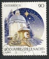 Autriche - Österreich - Austria 2018 Y&T N°(2) - Michel N°(?) (o) - 90c Nuit Des étoiles - 2011-... Oblitérés