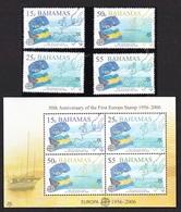 2005 - BAHAMAS - CINQUANTESIMO DEL PRIMO FRANCOBOLLO CEPT - 50TH OF THE FIRST EUROPA CEPT STAMP. MNH - Bahamas (1973-...)