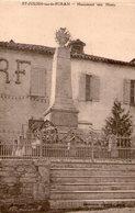 (Jura) CPA  Saint Julien  Sur Le Suran  Monument Aux Morts  (Bon état) - France