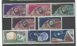 Col Gen. 1962 1ère Liaison TV Par Satellite, Neufs ** MNH, Cote YT 70€ - France (ex-colonies & Protectorats)