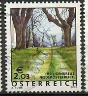 Autriche - Österreich - Austria 2002 Y&T N°2199 - Michel N°2367 (o) - 2,03€ Heiligenkreuz - 1945-.... 2ème République