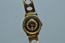 Montre Bracelet Kiplé Plaqué Or Fonctionne - Watches: Old