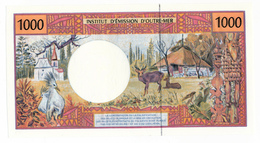 INSTITUT D'EMISSION D'OUTRE MER // Mille Francs // Signature Différente SPL / AU - Banknotes