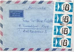 Postal History Cover: Brazil Stamps On Cover - Brasilien