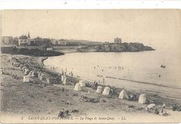 5. SAINT-QUAY-PORTRIEUX . LA PLAGE A SAINT-QUAY . CARTE NON ECRITE - Saint-Quay-Portrieux