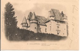 L120B_202 - Château De Thiviers Pris Du Parc  N° 2 - Carte Précurseur - Thiviers