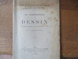 LA COMPOSITION DE DESSIN A L'EXAMEN D'ENTREE A SAINT-MAIXENT ET A SAUMUR PAR LE CAPITAINE PERDREAU 1926 - Documents
