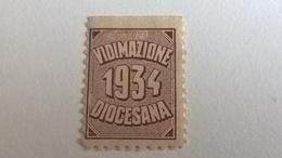1934 VIDIMAZIONE DIOCESANA - Cinderellas
