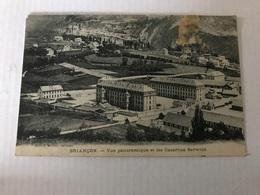 Briancon Vue Panoramique Et Les Casernes Berwick En 1911 - Briancon