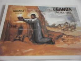 Miniature Sheet Perf Eater 1985 - Uganda (1962-...)