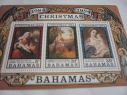 Miniature Sheet Perf Christmas 1984 - Bahamas (1973-...)