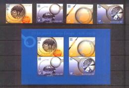 2005 - SLOVENIA - CINQUANTESIMO DEL PRIMO FRANCOBOLLO CEPT - 50TH OF THE FIRST EUROPA CEPT STAMP. MNH - Slovenia