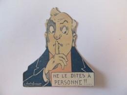 Chromo Dépliant Peinture MATOLIN Paris - Ne Le Dites à Personne ! - Illustrateur E. Vavasseur - Other
