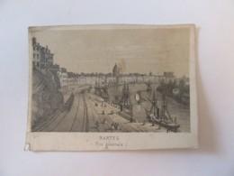 France - Petite Gravure De La Ville De Nantes (Vue Générale) - Non-signée - Prints & Engravings