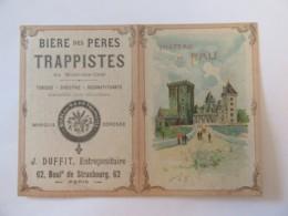 Chromo Bières Des Pères Trappistes Du Mont-Des-Cats - Chromo Ouvrant - Château De Pau - Chromos