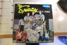 Disque 25 Cm 33 Tours The Spotnicks In Paris Sur Président - - Special Formats