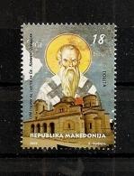MACEDONIA 2016, RELIGION, KLIMENT OF OHRID,,MNH - Macedonia