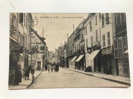 Carte Postale Ancienne PROVINS Rue Hugues Le Grand - Provins