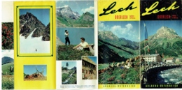 Dépliant. Osterreich. Lech. Oberlech. Arlberg. Austria. - Toeristische Brochures