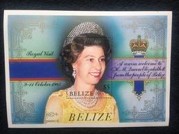 Belize Royal Visit 1985 Mint - Belize (1973-...)