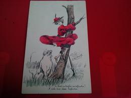 ILLUSTRATEUR G.MOUTON FEMME AVEC UN COCHON - Other Illustrators