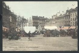 +++ CPA - BRUSSEL - BRUXELLES - Marché Du Grand Sablon - Couleur    // - Markten