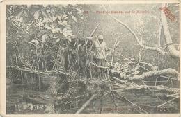 REPUBLIQUE  CENTRAFRICAINE  Pont De Liane Sur La Mambéré  2scans - Central African Republic