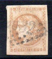 FRANCE - 1870 - YT N° 43Bd - Report 2 - Cote: 150,00 € - 1870 Bordeaux Printing
