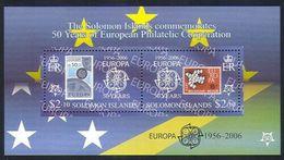 2006 - SOLOMON ISLANDS - CINQUANTESIMO DEL PRIMO FRANCOBOLLO CEPT - 50TH OF THE FIRST EUROPA CEPT STAMP. MNH - Isole Salomone (1978-...)