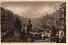 Prag Praha Wenzelsplatz 1930 - Tschechische Republik