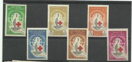 Dom Tom 1963 Centenaire Croix Rouge Neufs** MNH Cote YT 44€50 - Frankreich (alte Kolonien Und Herrschaften)