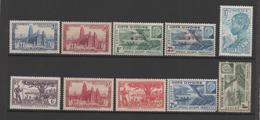 Cote D'Ivoire 10 Timbres Neufs (1èr Rg 2ème Choix Gomme Défraichie, 2ème Rang 3 ème Choix Verso Très Altéré) - Costa De Marfil (1892-1944)