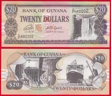 Guyana 20 Dollars 2018 P - 30g UNC - Guyana